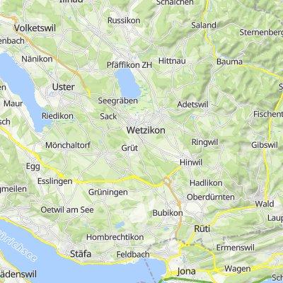 Wolfhausen - Girenbad - Isikon - Tour