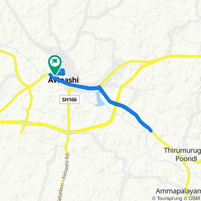 Sporty route in Avinashi