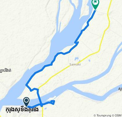 Bike tripe in Krong Stung Treng