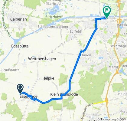 Ruta rápida en wolksburg