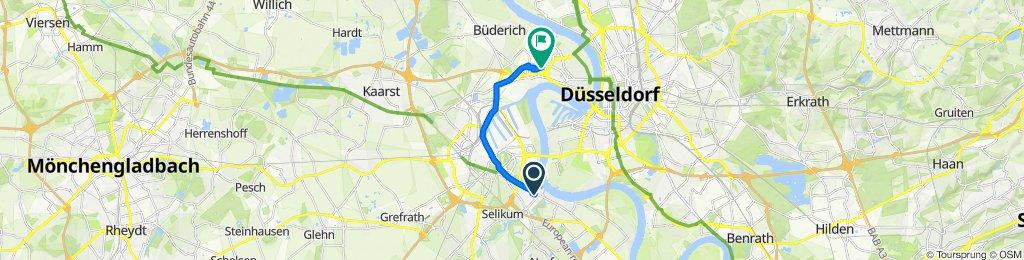 Magnolienweg 4, Neuss to Viersener Straße 38, Düsseldorf