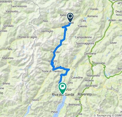 DOGA (Dolomiti-Garda Alpine Cycling Route)