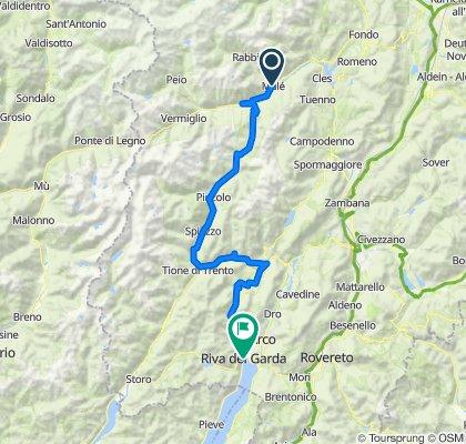 DOGA Variante (Dolomiti-Garda Alpine Cycling Route) - Dolce Vita