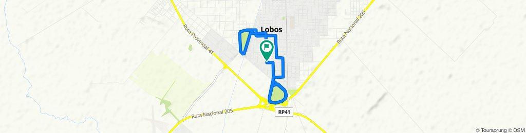 Las Heras 802–900, Lobos to Las Heras 801–899, Lobos
