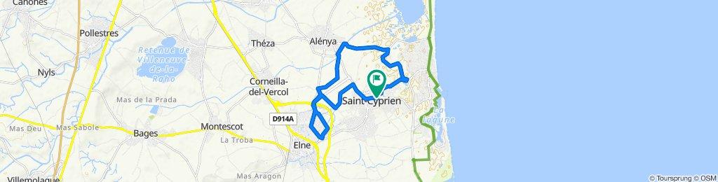 Elne Alenya St  Cyprien trike