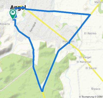 Ruta constante en Angol