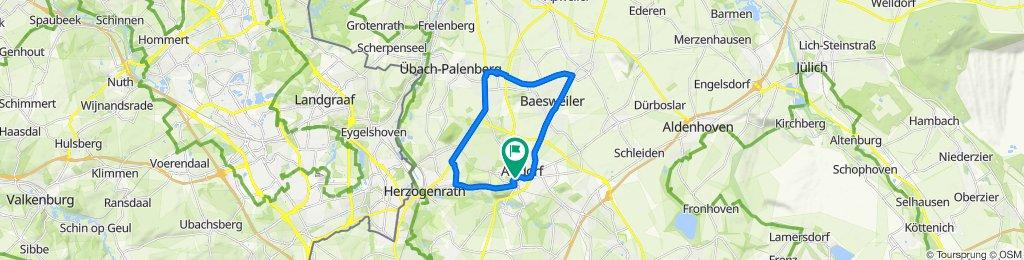 Route Setterich-Merkstein