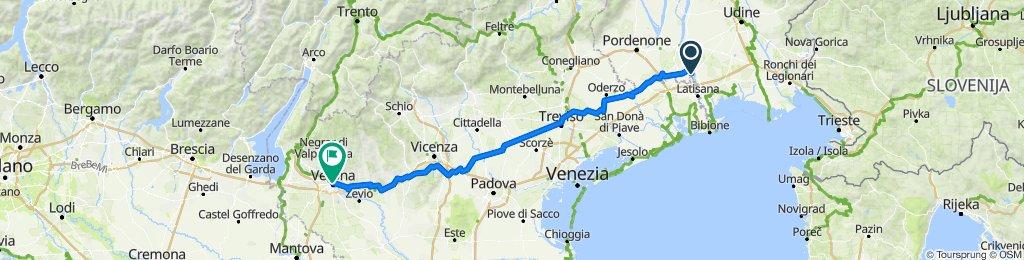 Bolzano à Verona, Itália