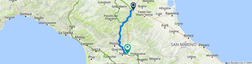 Bologna à Firenze, Itália