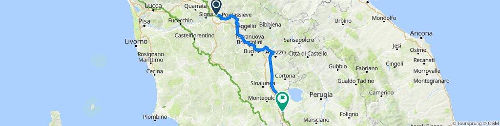 Firenze à Chiusi Scalo, Itália