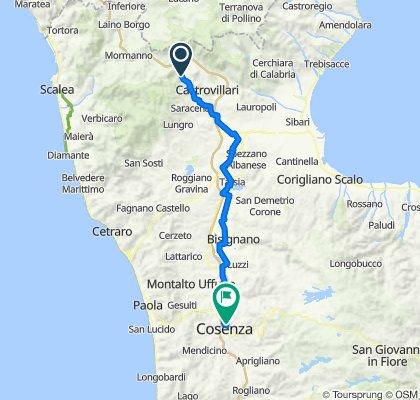 Morano Calabro à Cosenza, Itália