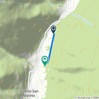 Giro a velocità lenta in Gandellino