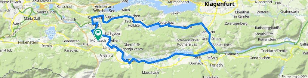Mühlbach - Keutschacher See - Viktring - Drauradweg