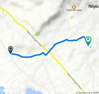 Karavopetras,  to Michalaki Kyprianou Avenue,