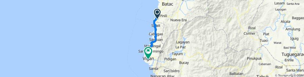 Badoc to Vigan City