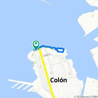 Easy ride in Colón