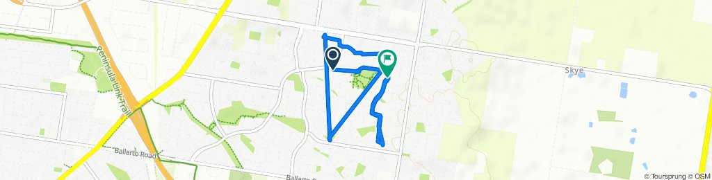 Easy ride in Carrum Downs
