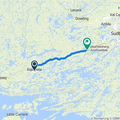 1060400 6of12 SouthCentralON - 04 Espanola, ON to Whitefish, ON (Centennial Park) 45km