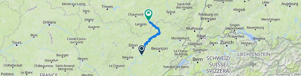 C1 Dole- Le Chatelet sur Meuse
