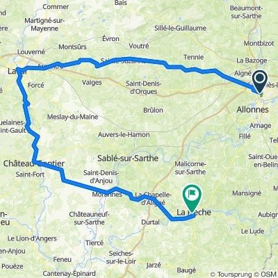 Tour de France v1 6 Le Mans - La Fleche