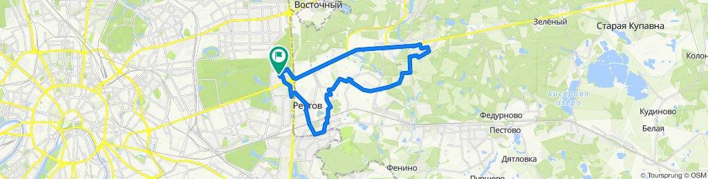 Зимние тёплые велоездки Балашиха - Дзержинского - Реутов 20 02 2020