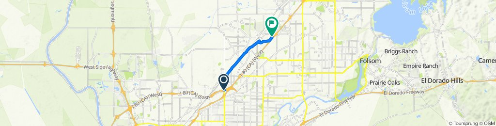Slow ride in Citrus Heights