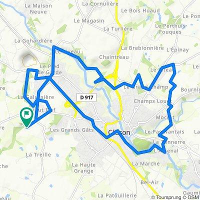 23 Rue du Grolier, Gorges to 23 Rue du Grolier, Gorges