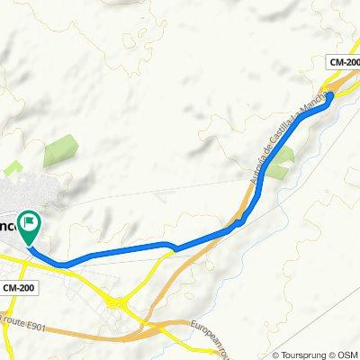 Paseo lento en Tarancón