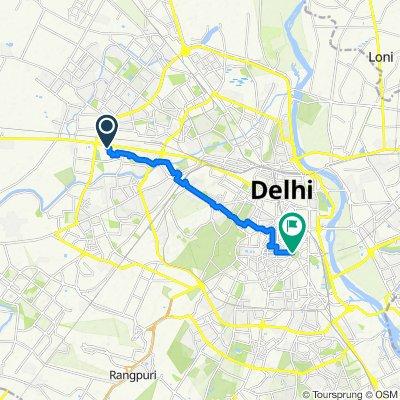 Easy ride in New Delhi
