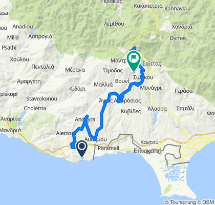 e-asyGo.com Tour 41 Pissouri Bay - Winery and Traditional Villages 2 Days E-Bike Excursion