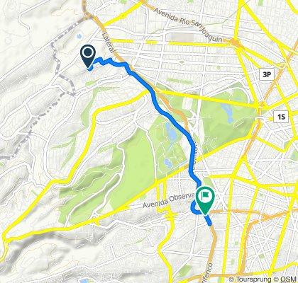 Ruta relajada 2 en Ciudad de México