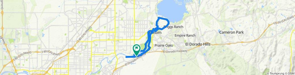 High-speed route in Fair Oaks