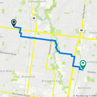 55 Soudan Street, Coburg to 564 High Street, Thornbury