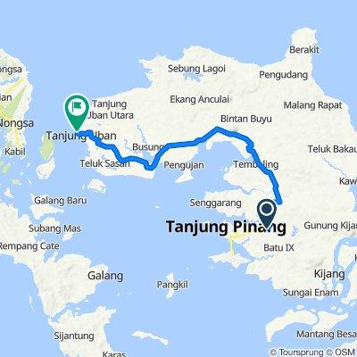 Relaxed route in Bintan Utara