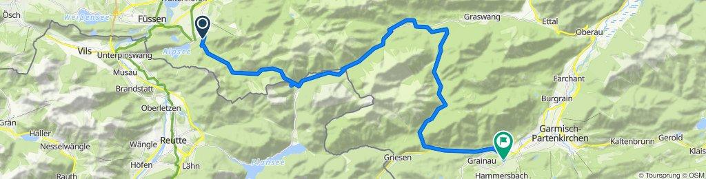 Neuschwanstein - Schmölz - 44 km