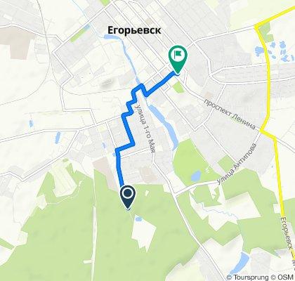 Устойчивая езда в Егорьевск