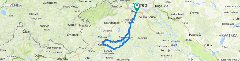 Karlovac prek Lasinje