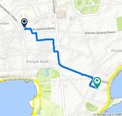 Passeio rápido em Montevidéu
