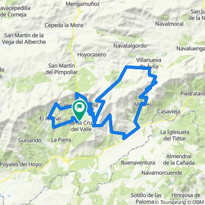 Mombletran-El Arenal-Pedro Bernado-MIjares-Serrranillos-El Sidrillo
