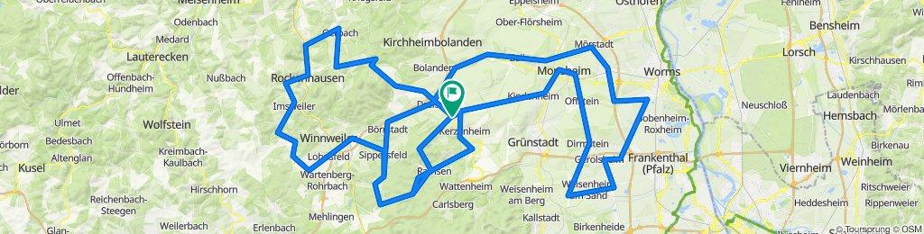 Frühjahres-Rad-Marathon Göllheim