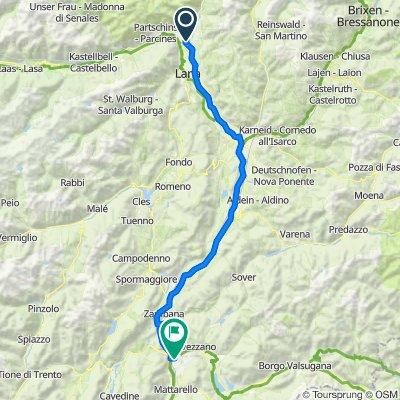 Etappe 3: Merano-Trento