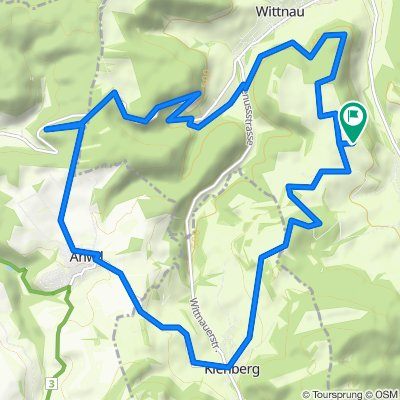 Wölflinswil-Kienberg-Anwil-Rothenfluh-Wölflinswil