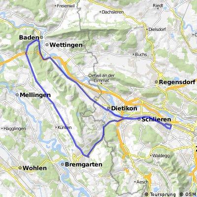 Altstetten - Baden - Altstetten