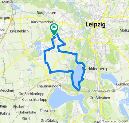 Leipzig(Schönau) zum Cosy und Zurück
