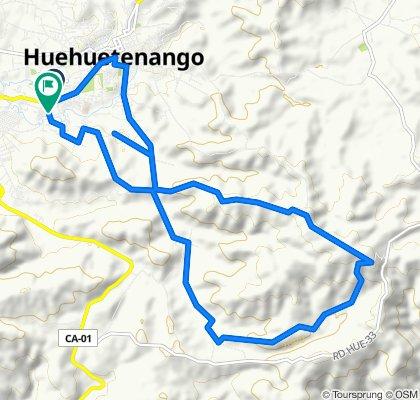 Ruta relajada en Huehuetenango