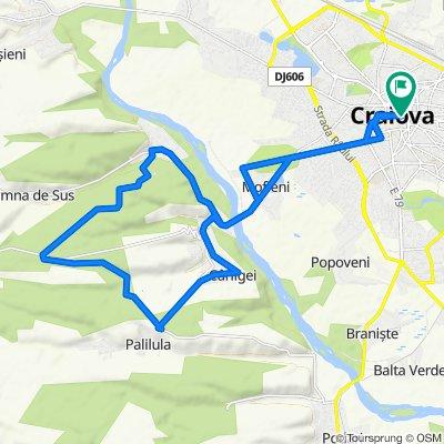 Craiova - Bucovat - Leamna - Palilula - Carligei - Craiova