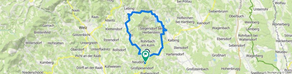 Hart 18, Pischelsdorf am Kulm to Hart 21, Ilztal
