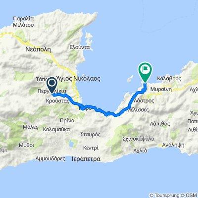 Day bike 4: Krista-Istro-Gournia-Mochlos