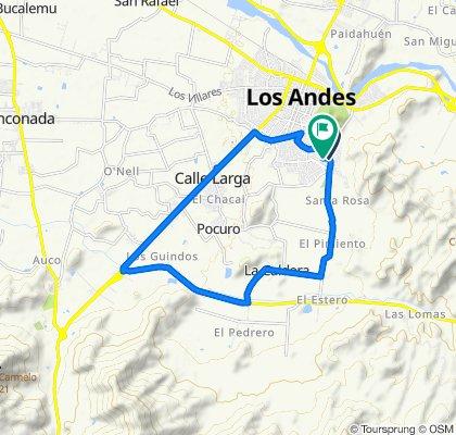 Paseo increíble en Los Andes