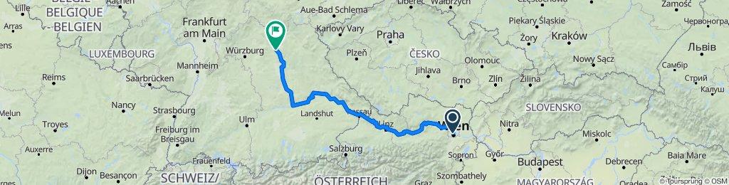 2. AUSTRIA:Vienna - GERMANY:Bamberg